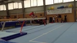 Anastassia Cybin BB 3.OL Wettkampf Mannheim 2015