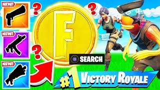 FIND the COIN Challenger *NEW* Fortnite Battle Royale Game