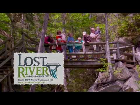 Experience Lost River Gorge and Boulder Caves