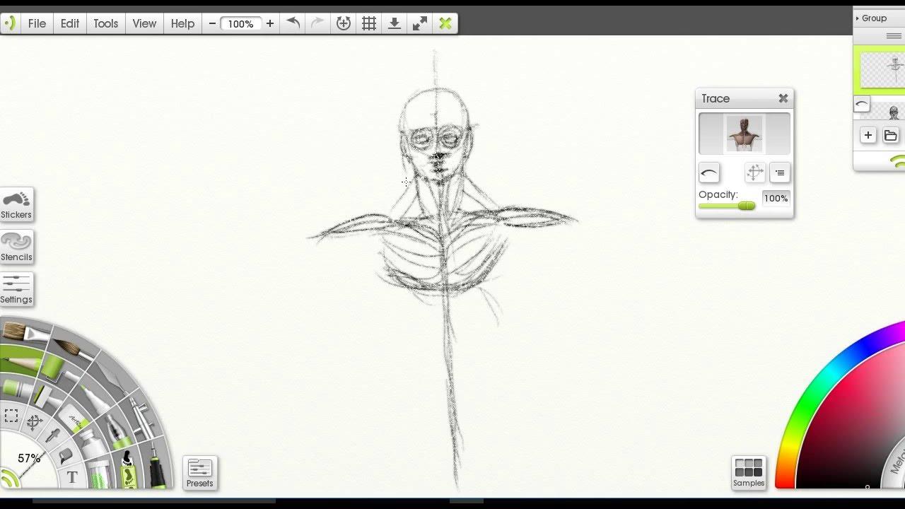 Anatomy Drawing Practice Youtube