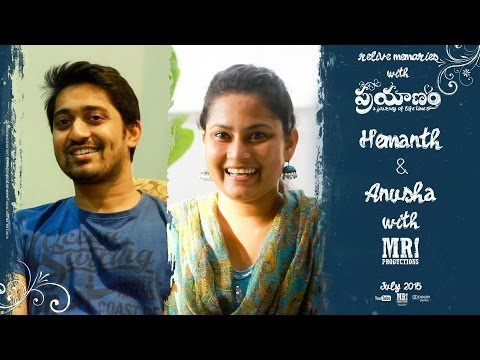 Hemanth & Anusha Journey with MR. Productions || Relive Memories with