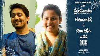 Hemanth & Anusha Journey with MR. Productions    Relive Memories with