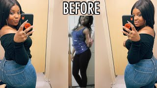 HOW I GOT THICK + FAST (With Pictures) | NO EXCERCISE OR APETAMIN