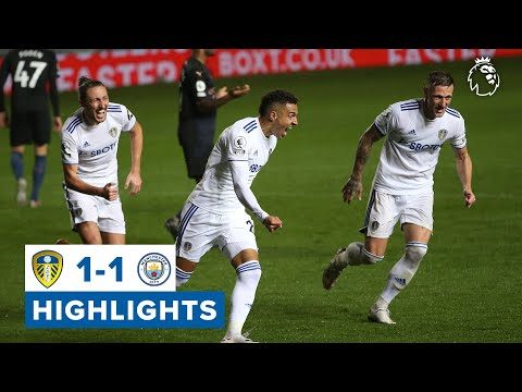 Highlights   Leeds United 1-1 Manchester City   2020/21 Premier League