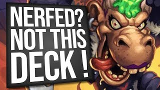 NERFED?! Not Galakrond Rogue! | Standard | Hearthstone