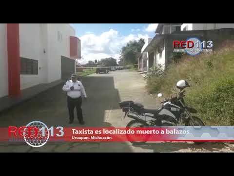 VIDEO Taxista es localizado muerto  a balazos, le dejaron letrero