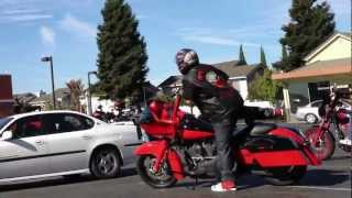 MOST ENVIED MC Vs East Bay Dragons motorcycle Gang Biker in Hayward CA - Near Kennedy Park