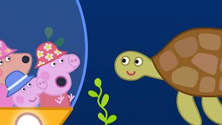 Peppa Pig Full Episodes - The Great Barrier Reef - Cartoons for Children