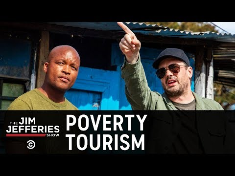 """South Africa's Langa Township Deals with """"Poverty Tourists"""" - The Jim Jefferies Show"""