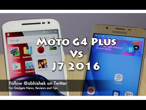 moto g4 plus vs samsung galaxy j7 2016   detailed com