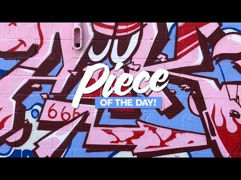 PIECE OF THE DAY GRAFFITI VIDEO : 123KLAN WITH TMRC AT JOURNAL DE MONTREAL
