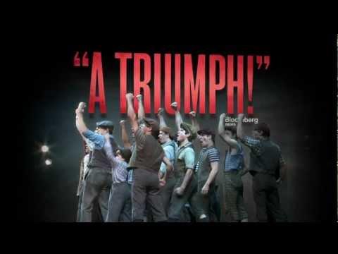 Disney's NEWSIES on Broadway - A Triumph!