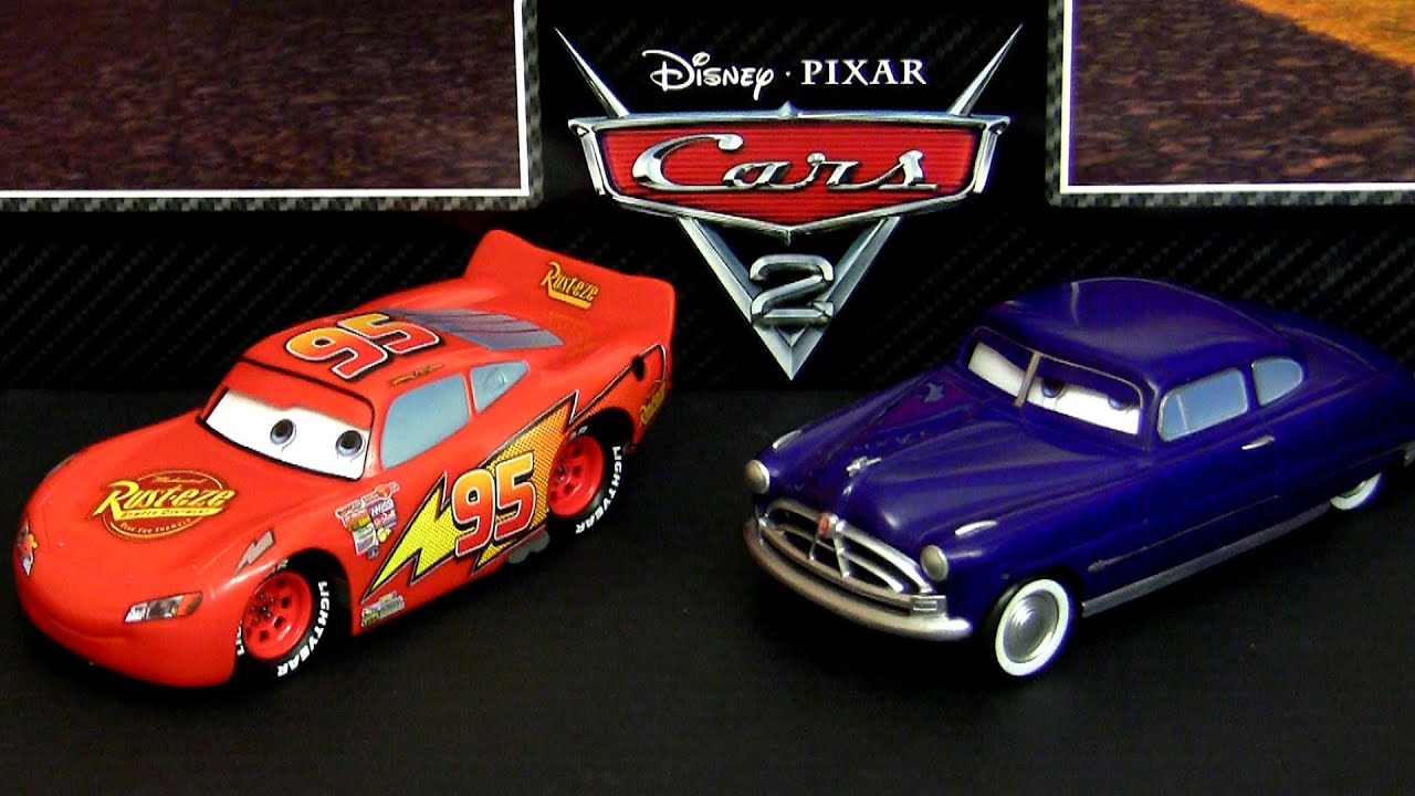 Lightning McQueen Talking with Doc Hudson 1:24 scale Cars ...