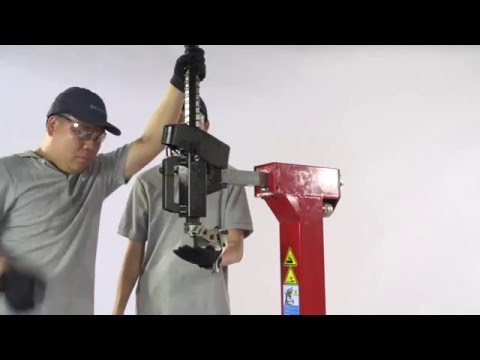The Unite® U-6656AT  Wheel Clamp Tire Changer