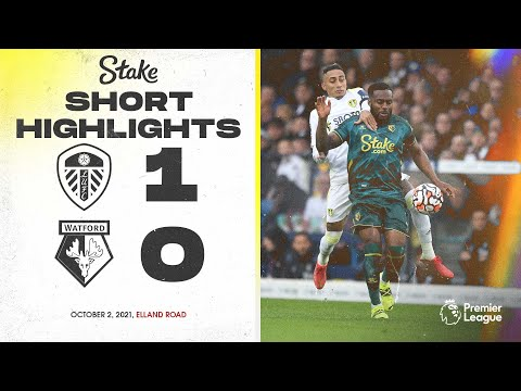 Leeds United 1-0 Watford |  Highlights of the Premier League