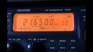 Deutsche Welle (transmitter Dhabbaya, United Arab Emirates) in amharic - 21650 kHz
