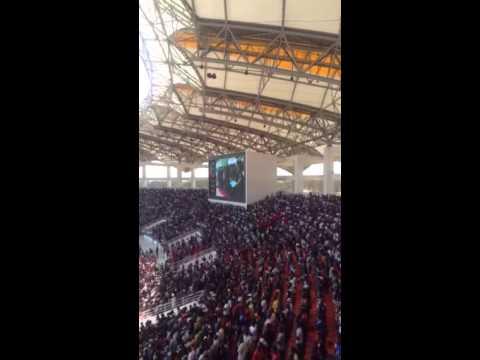 Late Michael Chilufya Sata requiem mass at the National Heroes Stadium