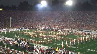Texas Longhorn Marching Band - 2010 BCS National Championship - Pre-Game Show