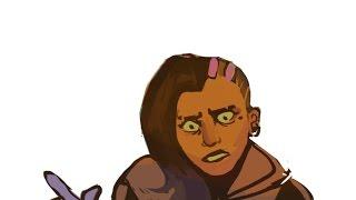 Sombra hacks McCree [Overwatch Comic]