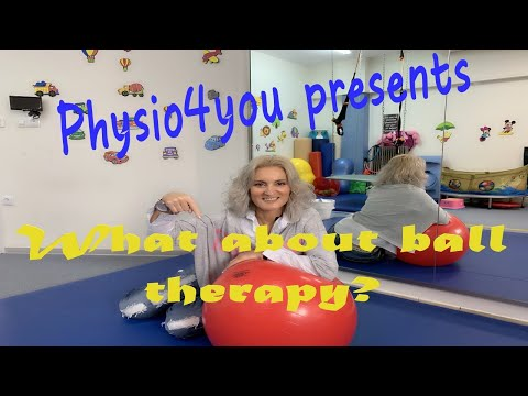Ball-therapy in pediatric physio-NDT/How-when-what shape and in which cases do we use balls?eng.sub