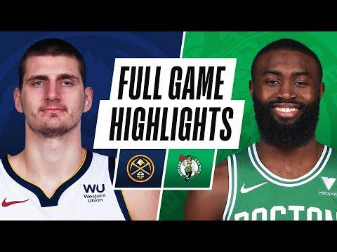 Game Recap: Celtics 112, Nuggets 99