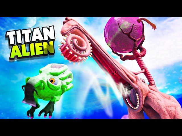 UNLOCKING The GIANT ALIEN'S MUTATION! - The Eternal Cylinder