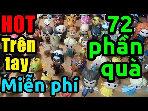 [HOT] Trên tay 72 hộp quà Toysphere miễn phí (phá đảo game, winner)