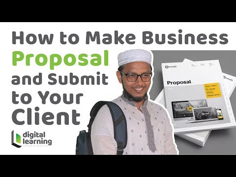 how-to-make-business-proposal-|-proposal-submission-to-your-client-|-bangla