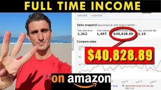 3 Amazon FBA Secrets to Make $40,000 a Month With No Experience!