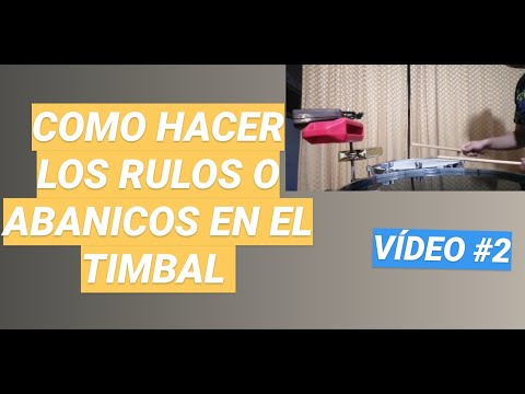 REDOBLES-TIMBAL-SALSA#2 - BIEN EXPLICADO