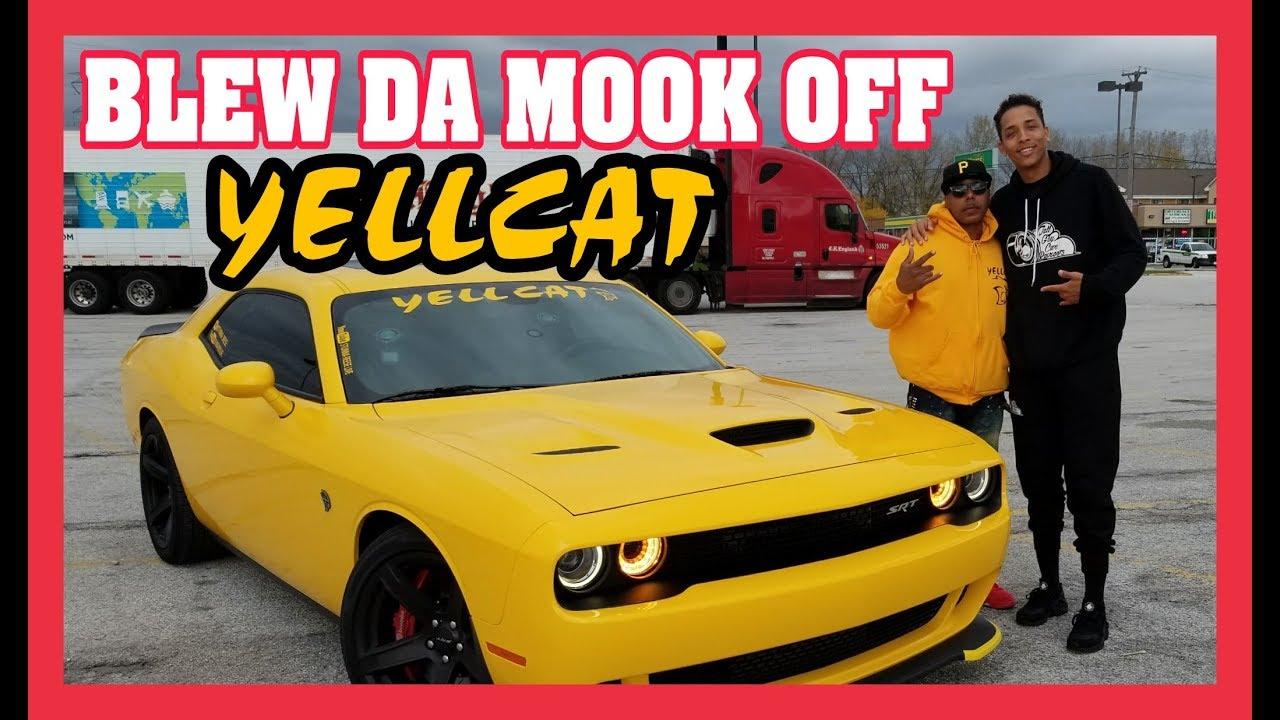 TALL GUY CAR REVIEWS BLEW DA MOOK OFF MY HELLCAT