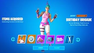 Fortnite Birthday Event Rewards