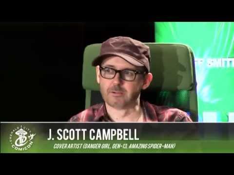 ECCC 2014: SECRET ORIGINS PRESENTS J. SCOTT CAMPBELL