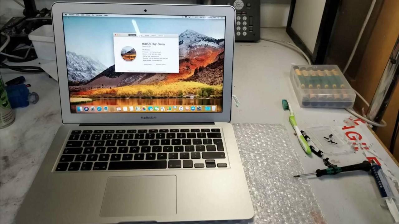 MacBook Air (13-inch, Mid 2013) A1466 Logic Board Repair London
