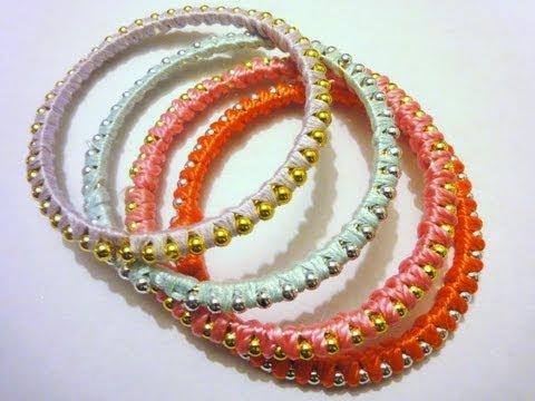 DIY Bracelet How to Make Stackable Bracelet EASY