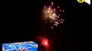 Skybolt 58 Shot Barrage by Black Cat Fireworks