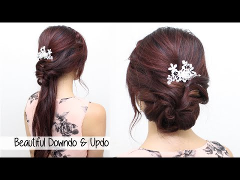 prom hair styles for hair homecoming prom bridal wedding hair tutorial l beautiful 2532