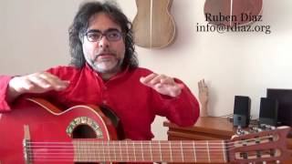 Assessment on Skype is a most to really learn Paco de Lucia´s style / Ruben Diaz guitar lessons