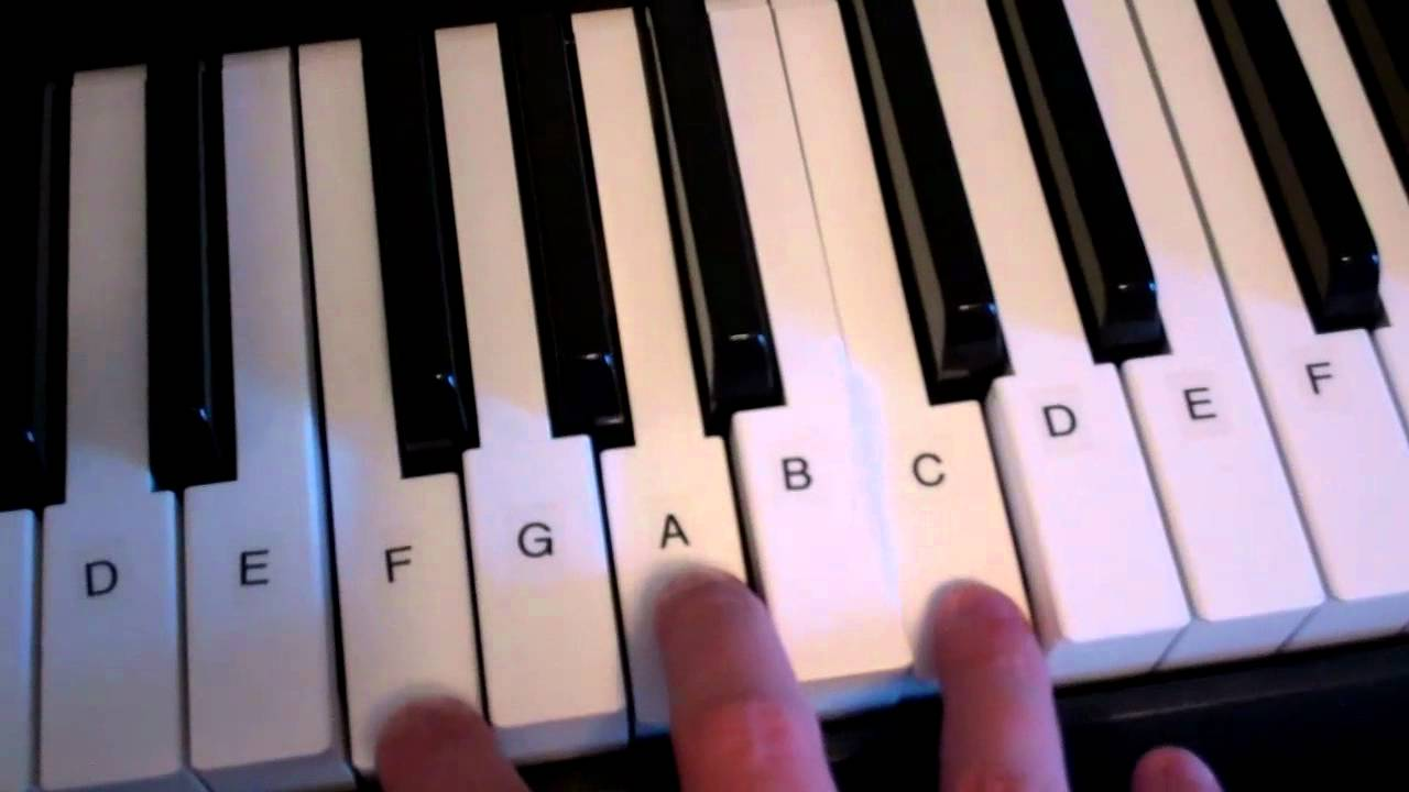 F major chord piano keyboard demo youtube hexwebz Images