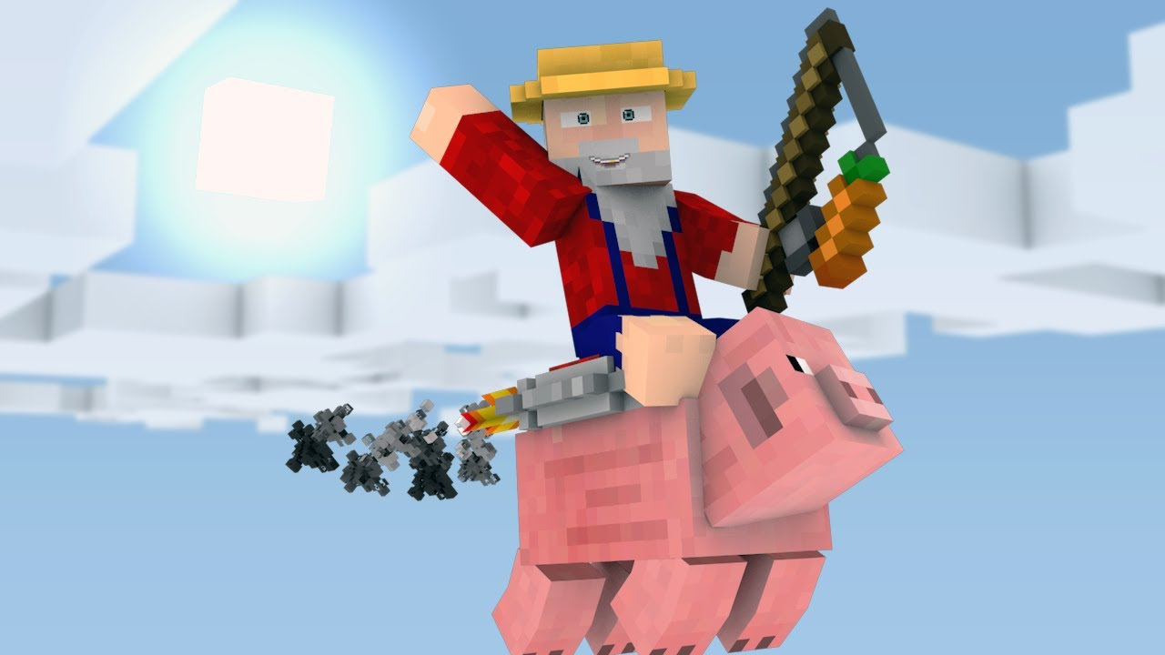 How To Make A Pig Fly In Mine Craft