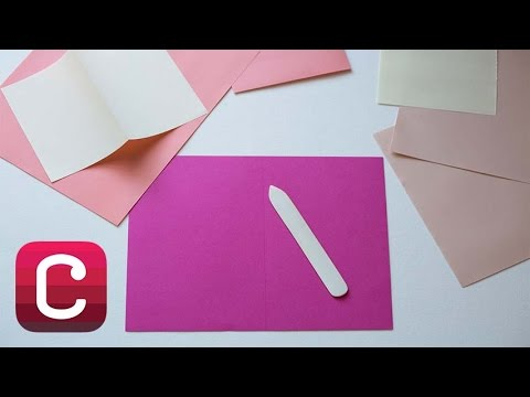 How to Use a Bone Folder with Courtney Cerruti | Creativebug