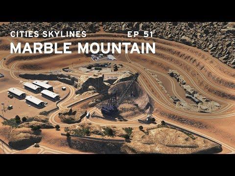 Ore Mine - Cities Skylines: Marble Mountain EP 51 |