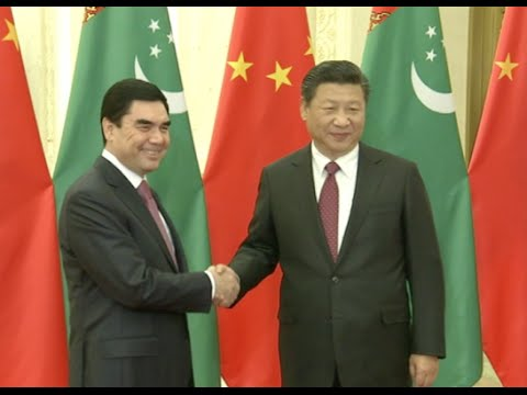 "China, Turkmenistan to Make Joint Efforts in Construction of ""One Belt and One Road"""