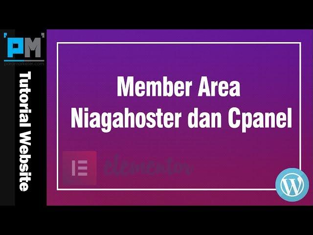 Member Area Niagahoster dan Cpanel #7