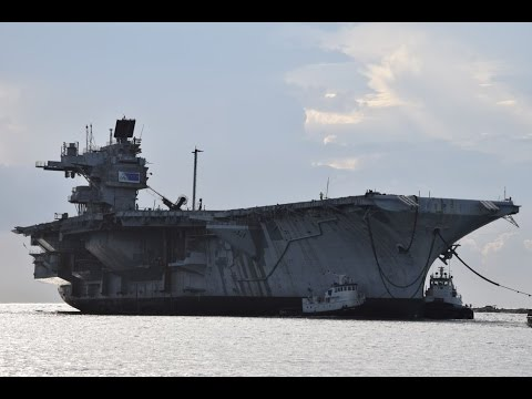 3D USS Saratoga's Final Voyage to Brownsville TX
