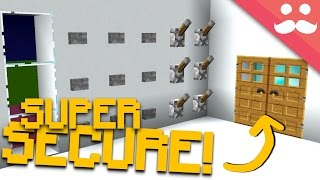 How to make THE BEST SECURITY SYSTEMS in Minecraft!