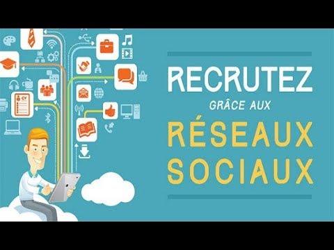 La révolution du recrutement sur Internet passe aussi par les médias réseaux sociaux.
