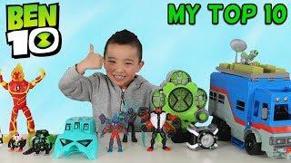 My TOP 10 BEN 10 Toys CKN Toys