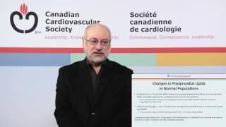 Non-Fasting Lipid Determination: 2016 CCS Dyslipidemia Guidelines