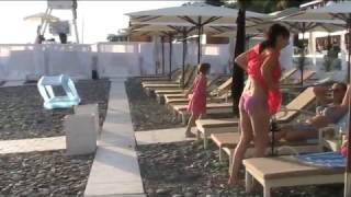 пляж гостиницы Пульман Сочи
